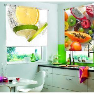 Фотожалюзи, с рисунком фруктов