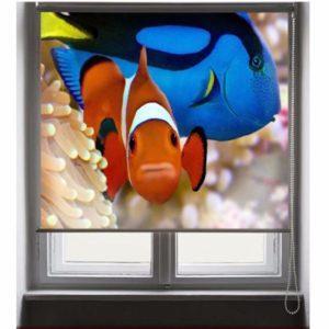 Фотожалюзи с рисунком рыбок