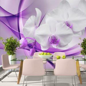 Фотообои, фиолетовый цветок
