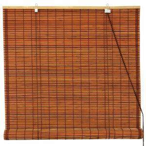 Бамбуковые шторы полупрозрачные